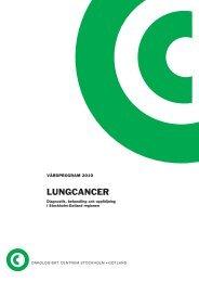 Vårdprogram för Lungcancer 2010 - Svensk Lungmedicinsk Förening