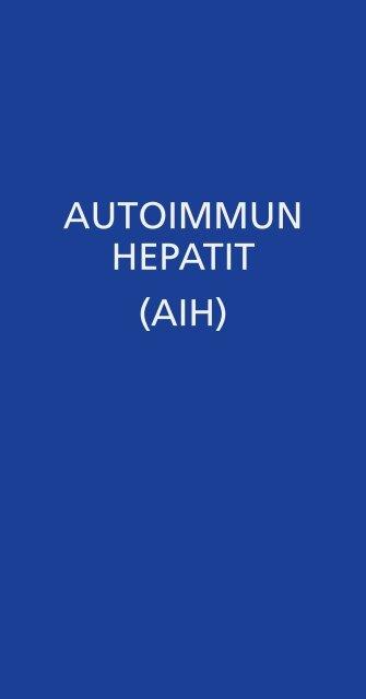 autoimmun hepatit smitta
