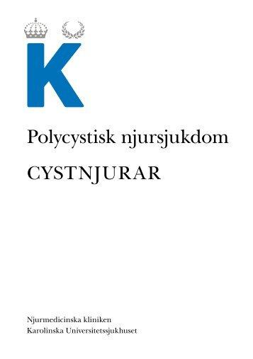 Cystnjurar eller polycystisk njursjukdom