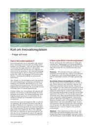 A_100831_Kort om Innovationsplatsen - Karolinska Sjukhuset