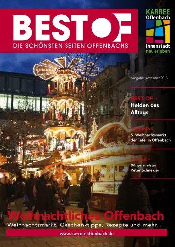 Weihnachtliches Offenbach - Karree Offenbach
