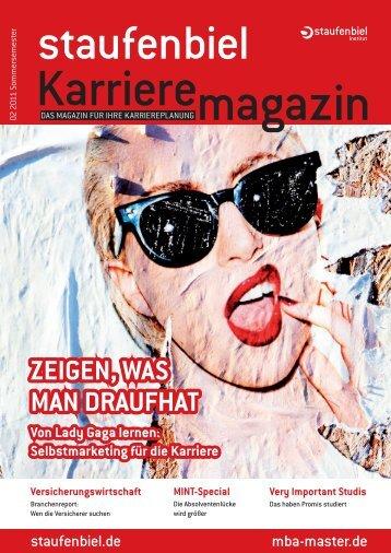 Ausgabe 3/2011 - Karrieremagazin.net