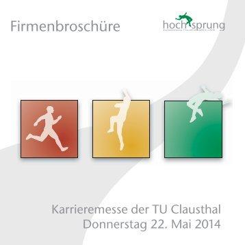 Karrieremesse an der TU Clausthal - hochsprung - Karrieremesse ...