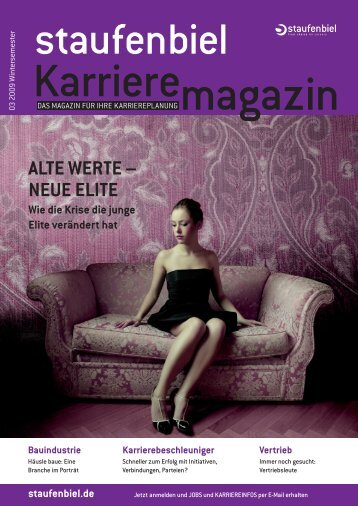 Ausgabe 3/2009 - Karrieremagazin.net