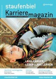 Ausgabe 4/2010 - Karrieremagazin.net