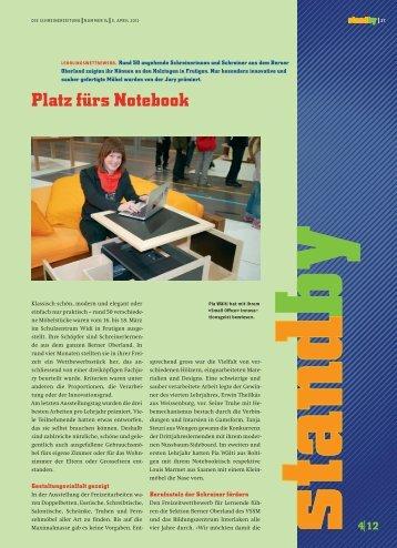 Standby April 2012 - KARRIEREPASS.ch
