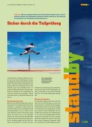 Standby November 2009 - KARRIEREPASS.ch