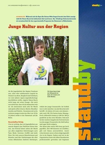 Standby August 2010 - KARRIEREPASS.ch