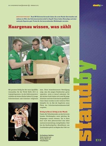 Standby Februar 2012 - KARRIEREPASS.ch