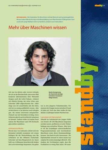 Standby Dezember 2009 - KARRIEREPASS.ch