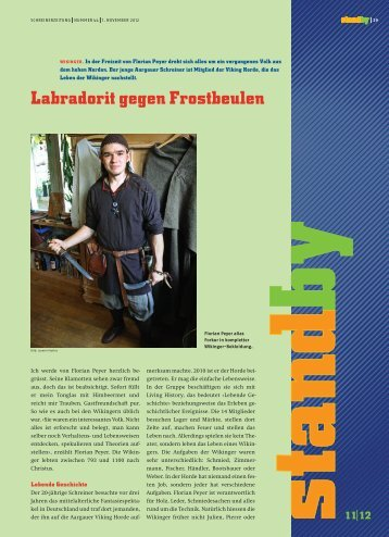 Standby November 2012 - KARRIEREPASS.ch