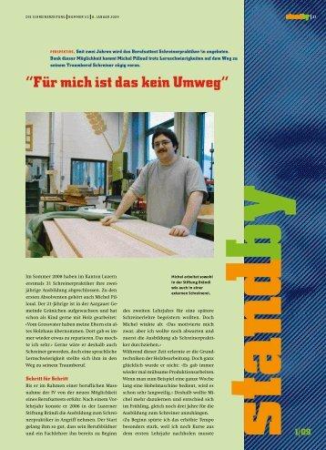 Standby Januar 2009 - KARRIEREPASS.ch