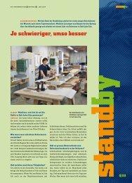 Standy Juni 2009 - KARRIEREPASS.ch