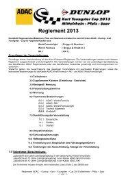 KYC-Reglement 2013.pdf - Kart Club Trier