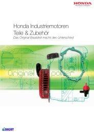 Honda Industriemotoren Teile und Zubehoer