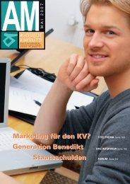 Marketing für den KV? Staatsschulden Marketing für den KV ...