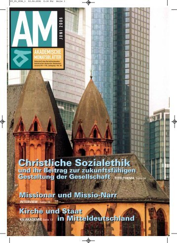 Christliche Sozialethik Christliche Sozialethik - KV