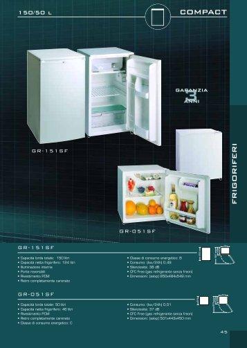 compact frigoriferi - Kasatua