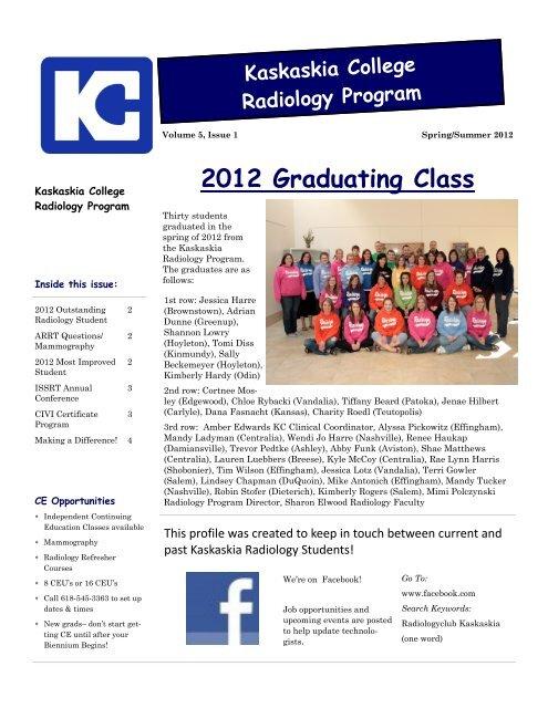 2012 Graduating Class - Kaskaskia College