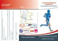 4. Sportmedizinisches Symposium - Kassel Marathon