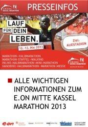 Download Pressemappe - Kassel Marathon