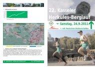 22. Kasseler Herkules-Berglauf - Kassel Marathon