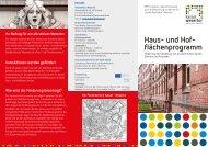 Haus- und Hof- flächenprogramm - Kassel