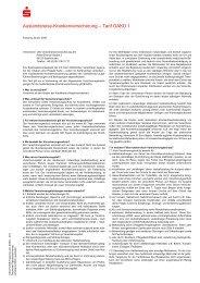 Auslandsreise-Krankenversicherung - Kasseler Sparkasse