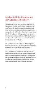 Fragen und Antworten zur Sicherheit von Geldanlagen - Kasseler ... - Seite 3
