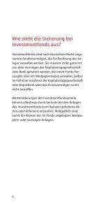 Fragen und Antworten zur Sicherheit von Geldanlagen - Kasseler ... - Seite 6