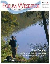 Forum Wesertor Ausgabe 14 - Kassel