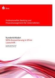 Lastschrift - Kasseler Sparkasse