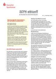 Höchste Zeit für Unternehmen, sich auf SEPA vorzubereiten Die ...