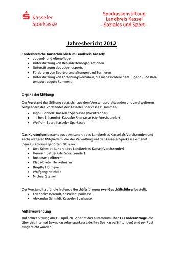 Jahresbericht S+S-Stiftung Landkreis 2012-lang ohne Summe ...