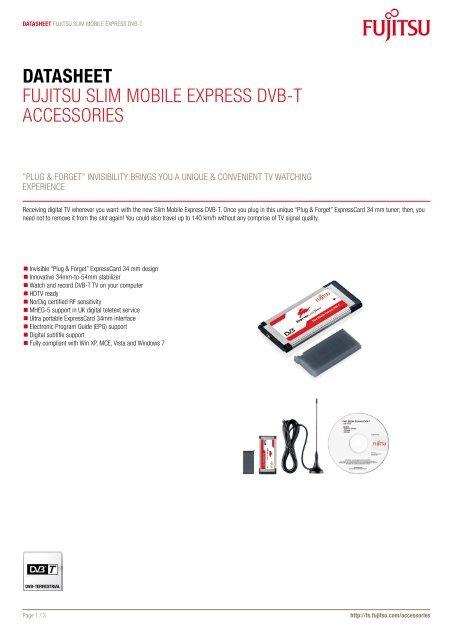 FUJITSU SLIM MOBILE USB DVB-T WINDOWS 10 DRIVERS