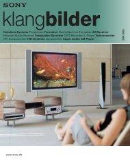 You make it a Sony - katalog.com! - Kataloge