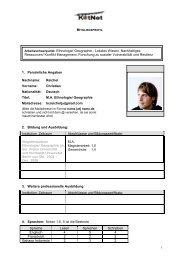 Persönliche Institutions E Mail-Adreße