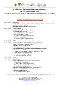 8. Berliner Rettungsdienstsymposium 09.-10. November 2007 - Page 2