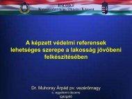 Képzett védelmi referens - Országos Katasztrófavédelmi ...