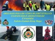 Melléklet letöltése - Országos Katasztrófavédelmi Főigazgatóság