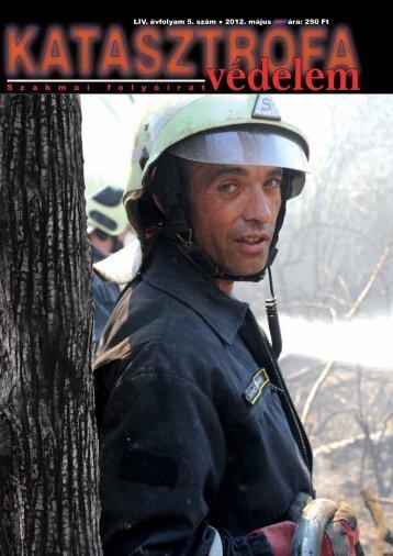 LIV. évfolyam 5. szám - Országos Katasztrófavédelmi Főigazgatóság