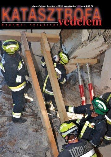 LIV. évfolyam 9. szám - Országos Katasztrófavédelmi Főigazgatóság