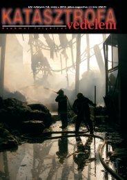 LiV. évfolyam 7-8. szám - Országos Katasztrófavédelmi Főigazgatóság