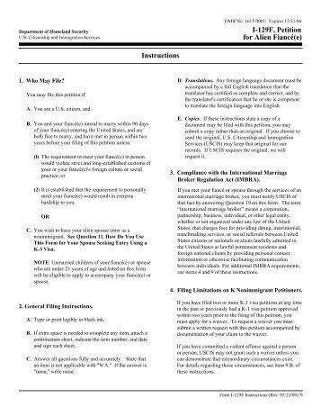 form i 129f instructions