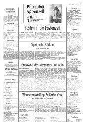 Ausgabe vom 15.02.2014, S.1-2 - Katholische Kirchenverwaltung ...