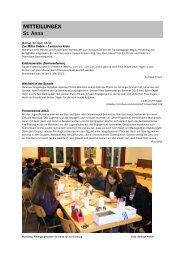 Forum 8, 13. - 27. April 2013 - Kath-FrauenfeldPLUS
