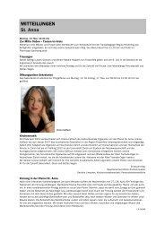 Forum 10, 12. - 25. Mai 2013 - Kath-FrauenfeldPLUS