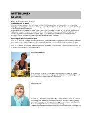 Forum 1, 29. Dezember - 12. Januar 2013 - Kath-FrauenfeldPLUS