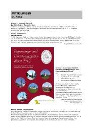 Forum 18, 15. - 29. September 2012 - Kath-FrauenfeldPLUS
