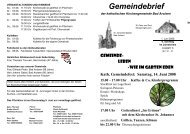 22 Woche - Kath. Kirche Bad Arolsen